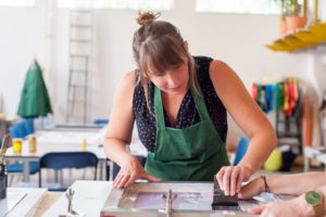 Cursus zeefdrukken ambacht workshop